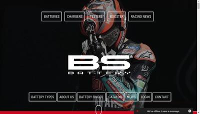 Site internet de Bs Battery SAS