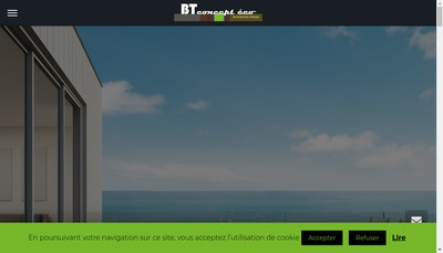 Site internet de Bt Concept Eco