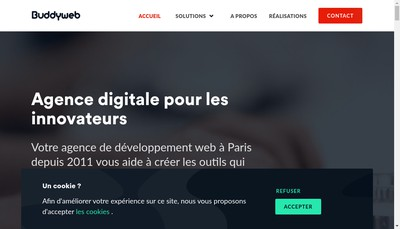 Site internet de Buddyweb