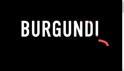 Site internet de Burgundi