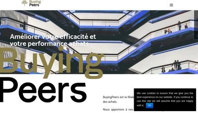 Site internet de Buyingpeers