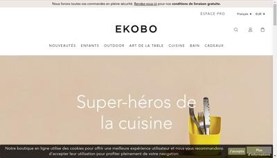 Site internet de Ekobo
