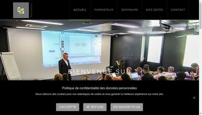 Site internet de C2S Formation