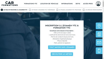 Site internet de Formalogistics