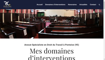 Site internet de SCP Placeo-Avocats