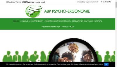 Site internet de Abp Psycho-Ergonomie