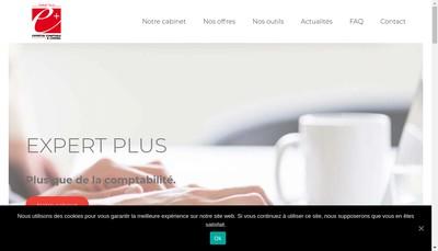 Site internet de Expert Plus