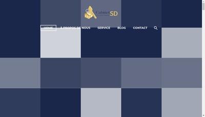 Site internet de Cabinet Sd Conseil & Courtage