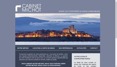 Site internet de Cabinet Michot