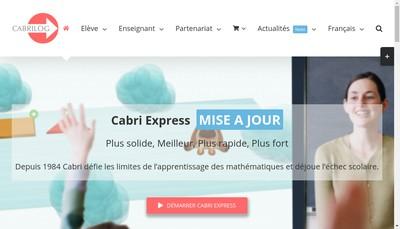 Site internet de Cabrilog