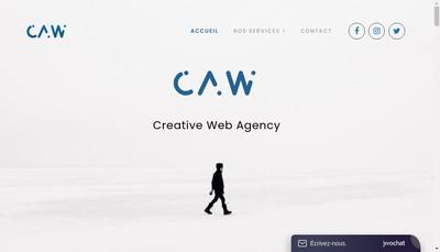 Site internet de Cafe Agence Web