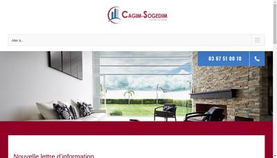 Site internet de Cagim - Sogedim