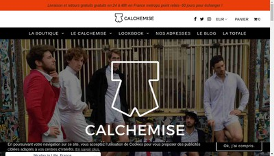 Site internet de Calchemise