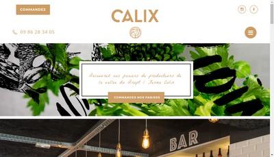 Site internet de Calix