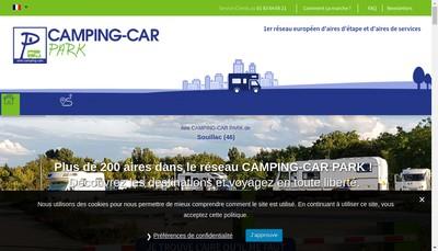 Site internet de Camping-Car Park