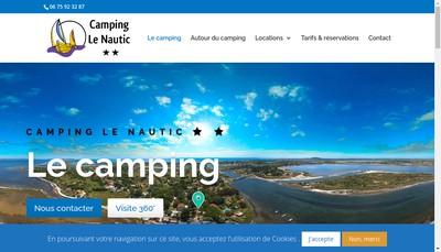 Site internet de Le Nautic