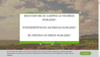 Site internet de Camping de Riquewihr