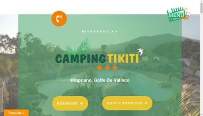 Site internet de Tikiti
