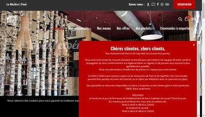 Site internet de O Quebec