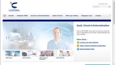 Site internet de Cantoriel