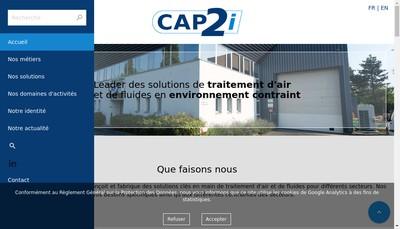 Site internet de Labeco Cap Ii