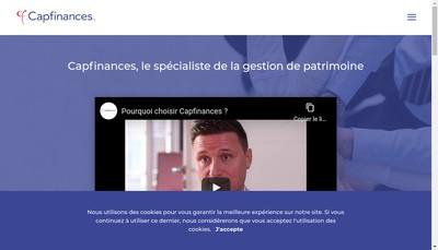 Site internet de Capfinances 25
