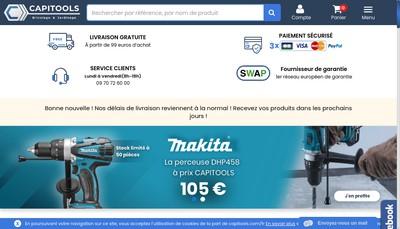 Site internet de Capitools
