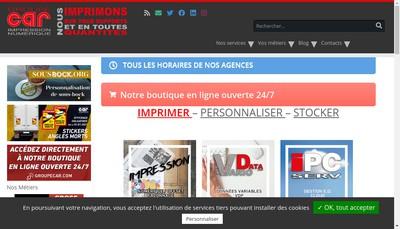Site internet de Info Repro