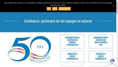 Site internet de Caralliance