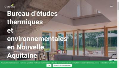 Site internet de Carbone 64