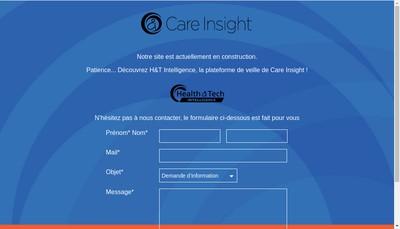 Site internet de Care Insight
