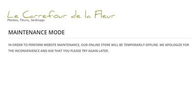 Site internet de Le Carrefour de la Fleur