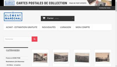 Site internet de SAS Clement Marechal