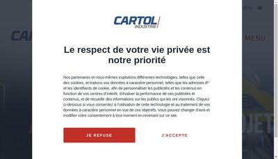 Site internet de Cartol Industrie