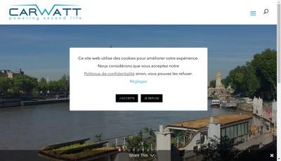 Site internet de Carwatt