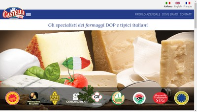 Site internet de Castelli France