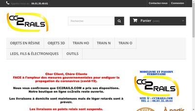 Site internet de Cc2Rails