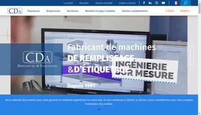 Site internet de Chabot Delrieu Usinage