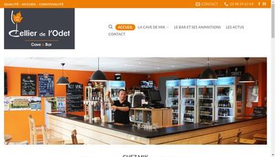 Site internet de Les Celliers de l'Odet