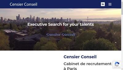 Site internet de Christine Censier Conseil