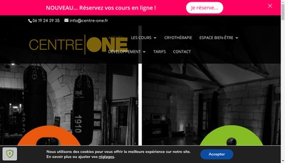 Site internet de Centre One