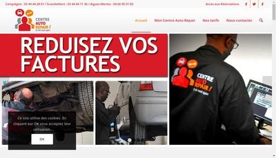 Site internet de Adjovi Auto Repair