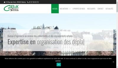 Site internet de Ceryx Trafic System