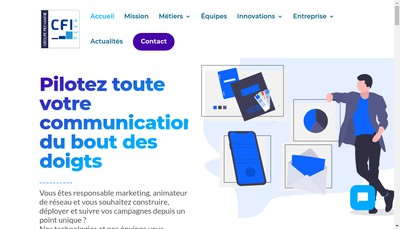 Site internet de Cfi Technologies