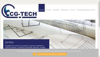 Site internet de Cg Tech