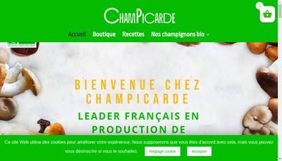 Site internet de Champicarde