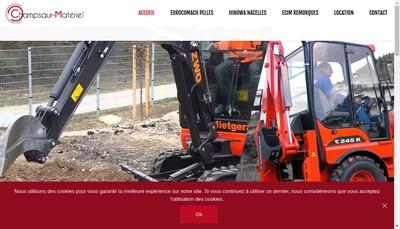 Site internet de Champsaur Materiel