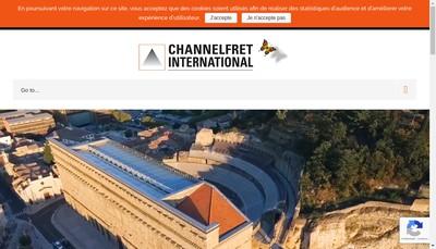 Site internet de Channel Fret International