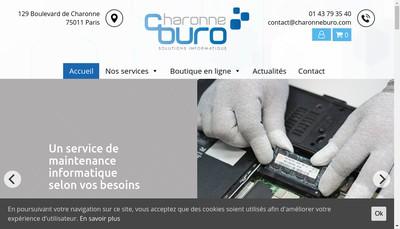 Site internet de Charonne Buro