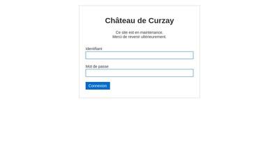 Site internet de Chateau de Curzay